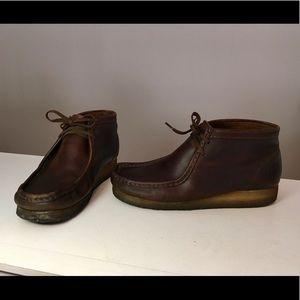 Clarks Men's Original Wallabee Boots Beeswax Sz 9